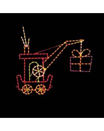 9' Silhouette Crane Car, LED