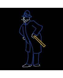 8' Victorian Policeman, LED