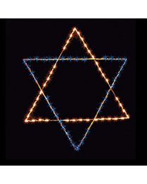 6' Silhouette Star of David