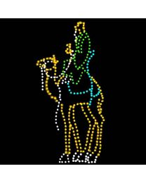 13' Wiseman on Camel, LED