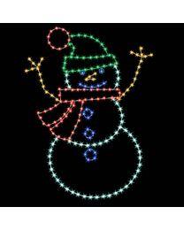 8' Snowy Dad, LED