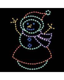 8' Snowy Mom, LED