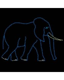 10' Daddy Elephant, LED