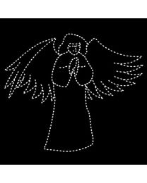 12' Angel Praying, LED