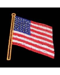 13' x 11' USA Flag, LED