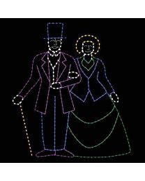14' x 16' Colonial Couple, LED