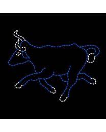 7 1/2' Running Bull, Option 2, LED