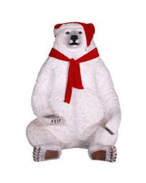 7.5' Sitting Christmas Bear