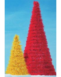 7' Full Round Spiral LED Fantasy Tree