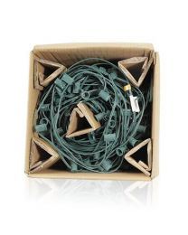 """C9 Cord, 36"""" Spacing, Green Wire, SPT-1, 250'"""