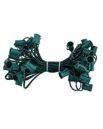 "C9 Cord, 9"" Spacing, Green Wire, SPT-1, 50'"