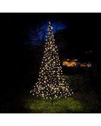 6' LED Fairybell Tree - Warm White Flash
