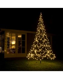 9.85ft LED Fairybell Tree - Warm White Flash