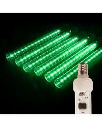 "12"" LED Falling Snow Tube - Green"