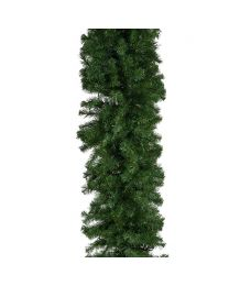 "9' x 18"" Deluxe Oregon Fir Garland, Unlit"