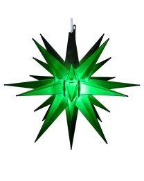 "14"" Moravian Star, Green"