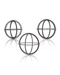 Holispheres - Set of 3 - Brown