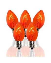 C7 7W, Twinkle, Amber/Orange, Box of 25