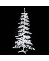 Ice Sculpture Christmas Tree - Pure White