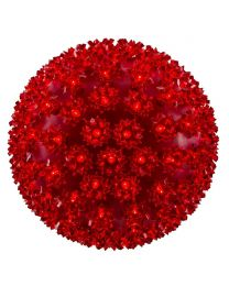 "Pro Christmas™ 10"" Sphere - 150L - Red"