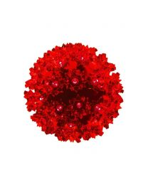 "Pro Christmas™ 6"" Sphere - 50L - Red"