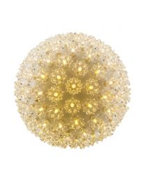 "Pro Christmas 7.5"" Twinkle Sphere - 100L - Warm White"
