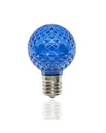 G40 LED Retrofit Bulb - Blue - Minleon - Bag of 25