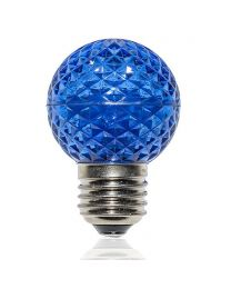 G50 LED Retrofit Bulb - Blue - E26 Base - Minleon - Bag of 10