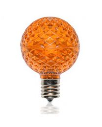 G50 SMD LED Retrofit Bulb - Amber/Orange - C9 Base - Pro Christmas™