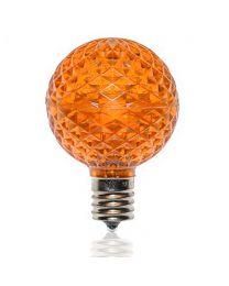 G50 SMD LED Retrofit Bulb - Amber/Orange - C9 Base - Pro Christmas™ - Bag of 10