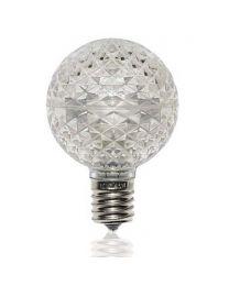 G50 SMD LED Retrofit Bulb - Cool White - C9 Base - Minleon - Bag of 10