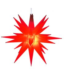 "14"" Moravian Star, Red"