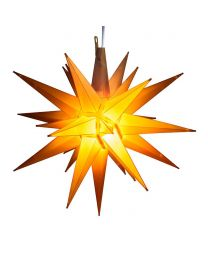"14"" Moravian Star, Yellow"