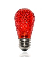 S14 LED Retrofit Bulb - Red - Minleon - Bag of 10