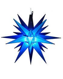 "14"" Moravian Star, Blue"
