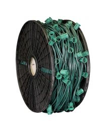 """C9 Cord, 36"""" Spacing, Green Wire, SPT-1, 1000'"""