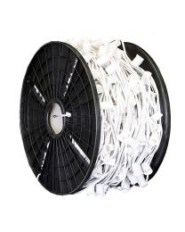 "C9 Cord, 24"" Spacing, White Wire, SPT-1, 500'"