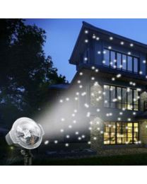 Falling Snow w/Wireless Remote Control - Laser Light Show