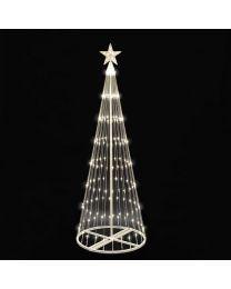 12' LED Light Show Tree-Warm White