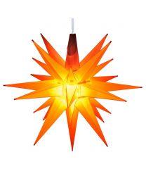 "14"" Moravian Star, Amber/Orange"