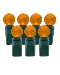 70 Light Amber/Orange G12 LED Christmas Lights