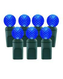 70 Light Blue G12 LED Christmas Lights