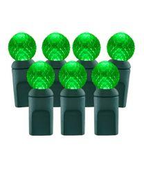 70 Light Green G12 LED Christmas Lights