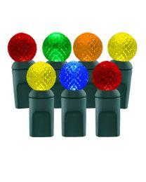 70 Light Multi G12 LED Christmas Lights