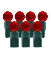 70 Light Red G12 LED Christmas Lights
