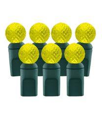 70 Light Yellow G12 LED Christmas Lights