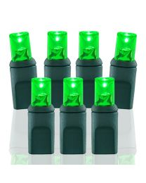 70 Light Lime Green 5 mm Wide Angle Conical LED Lights
