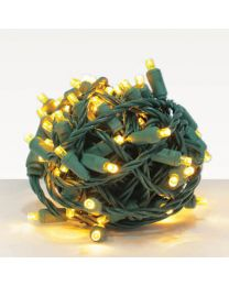 """RY Connect WAC Balled - Yellow - 70 Lights - 4"""" Spacing"""
