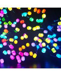 Twinkly Home Smart Christmas Lights, RGB 4mm, 400 Lights - WiFi and Music Sensor