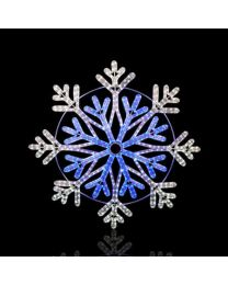 "36"" Frost Snowflake - LED Rope Light"